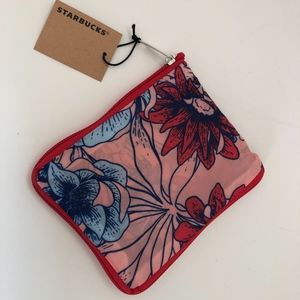 Starbucks floral foldable bag
